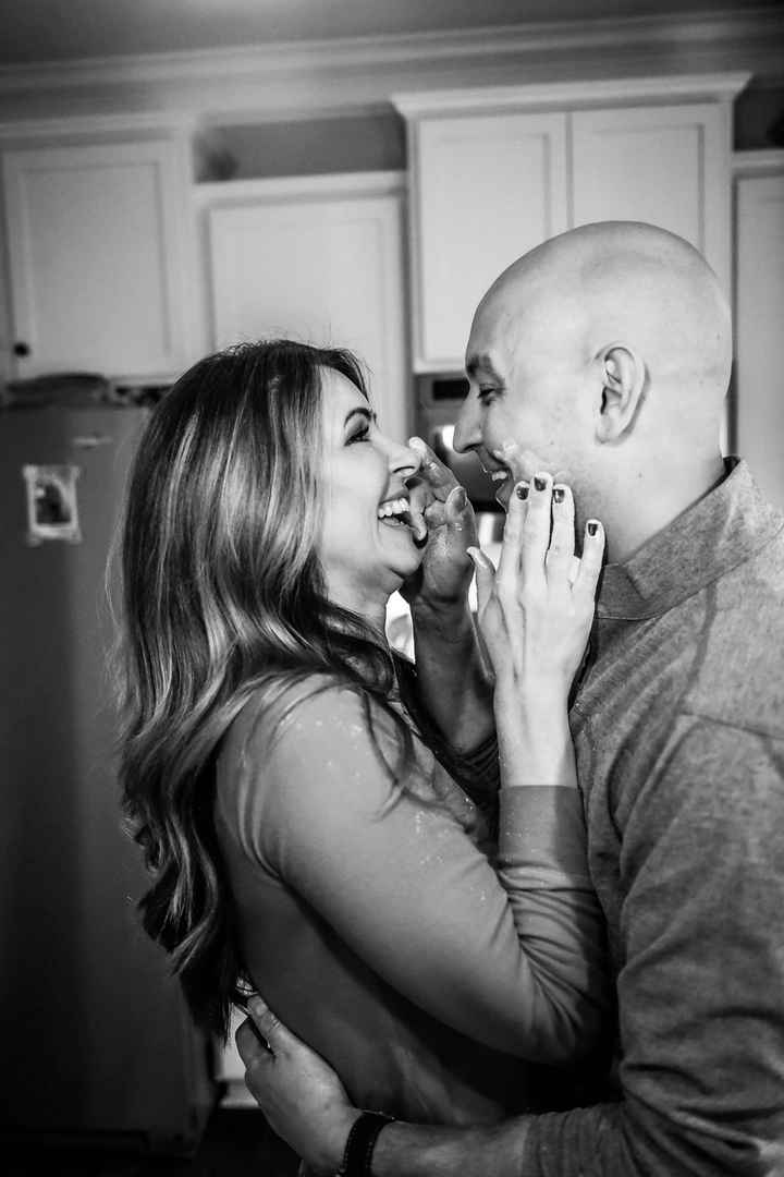 Anyone have engagement photos that are neither cutesy nor glam? - 1