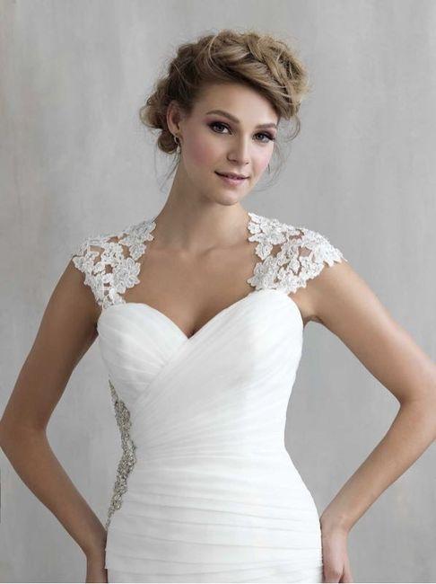 Adding Straps To A Wedding Dress Weddings Wedding Attire