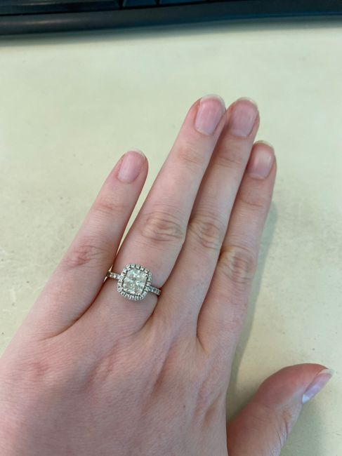 Can i start a new ring thread! Let's see that bling! 8