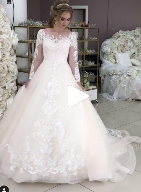 """Blushing"" Bride or simple ivory? 2"