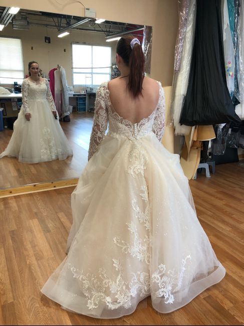 Dress: to poof, or not to poof? 3