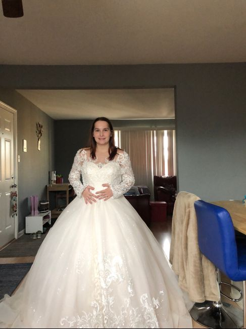 Dress: to poof, or not to poof? 5