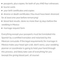 Marriage license question