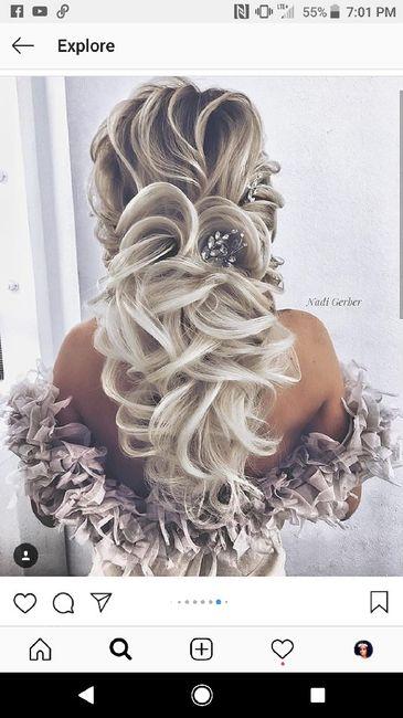 Wedding hair - 1