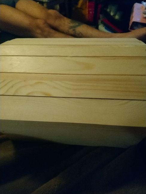 i made my own card box! - 1