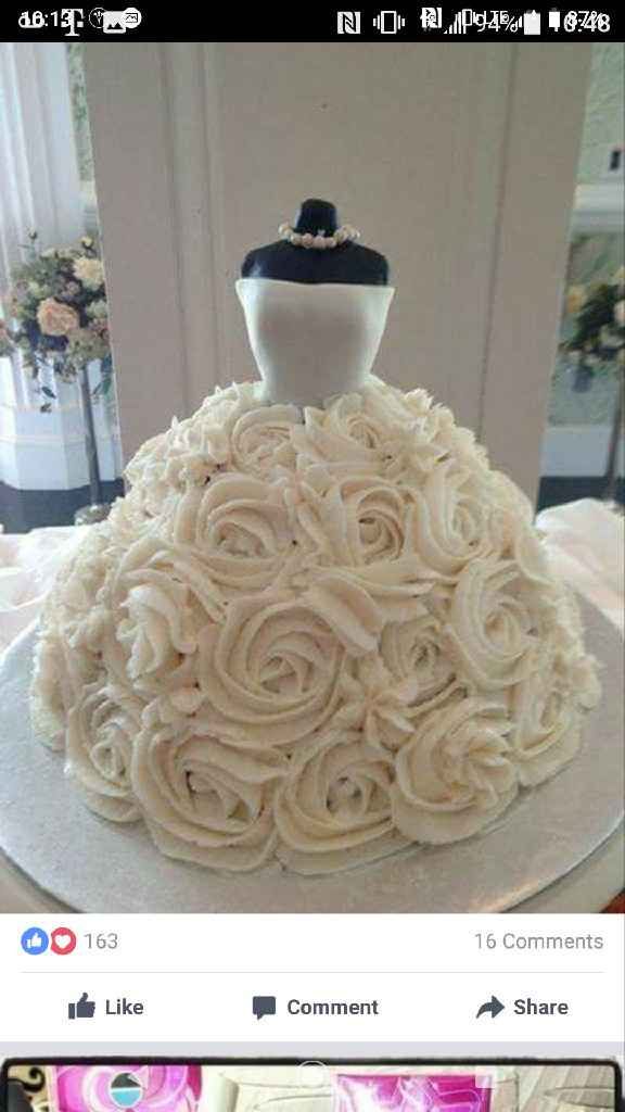 Changed the cake i wanted, what yall think? - 1
