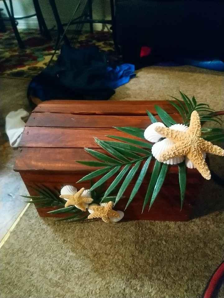 i made my own card box! - 2