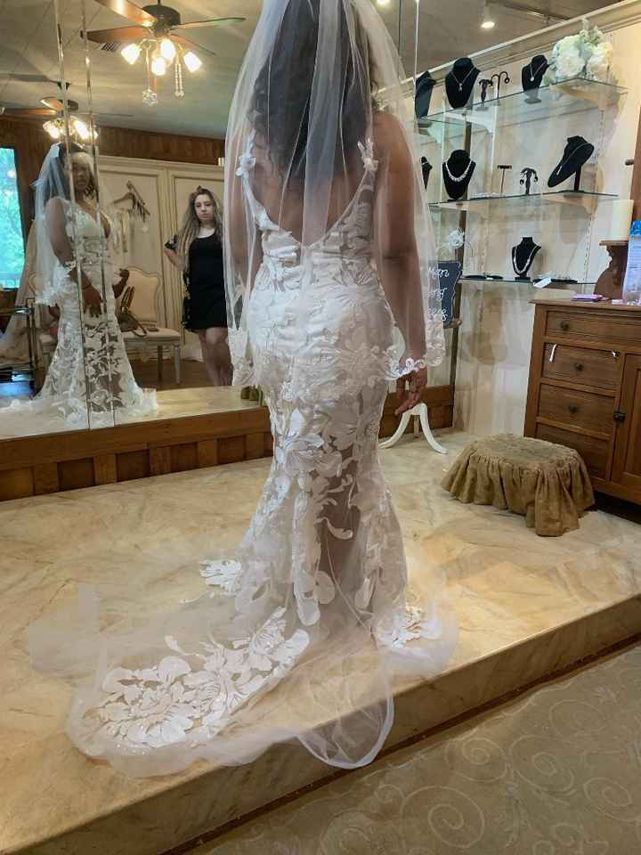 Anyone didn't get a traditional wedding dress? - 1