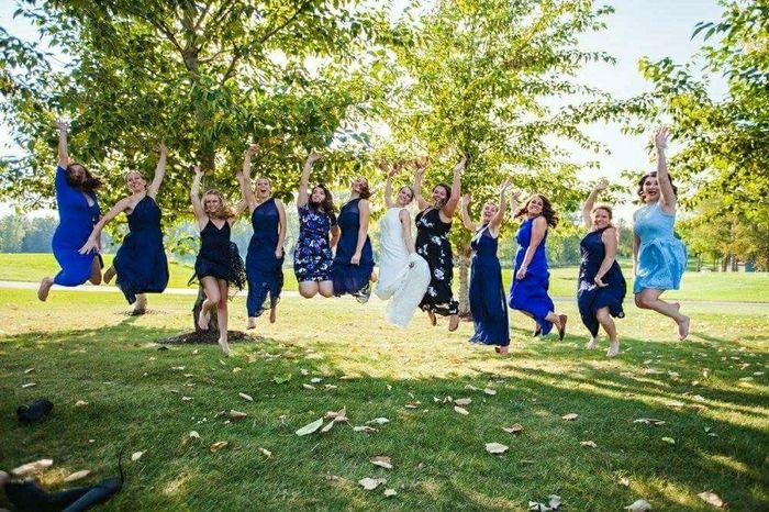 Sorta bridesmaids? 1