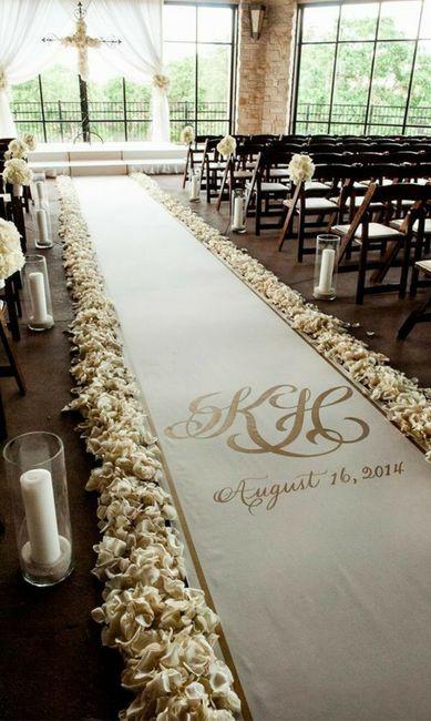 Ceremony decor? - 1