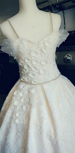 Making my own wedding dress! 1