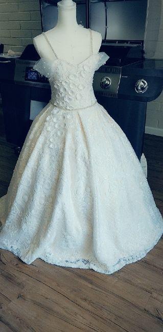 Making my own wedding dress! 2