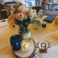 our guest table setting