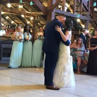 Our first dance.
