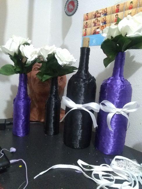 diy Decor Idea: wine bottles 10