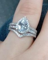 Brides and brides to be! i want to see your wedding bands or ideas for wedding bands! 10