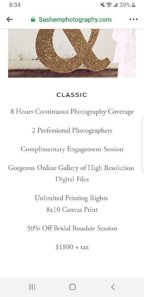 Budget friendly photographer - 1