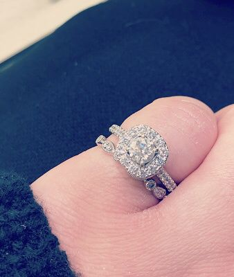 Mismatched engagement and wedding rings..yay or nay? - 1