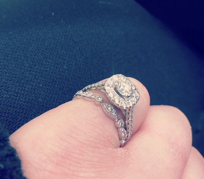 Mismatched engagement and wedding rings..yay or nay? - 3
