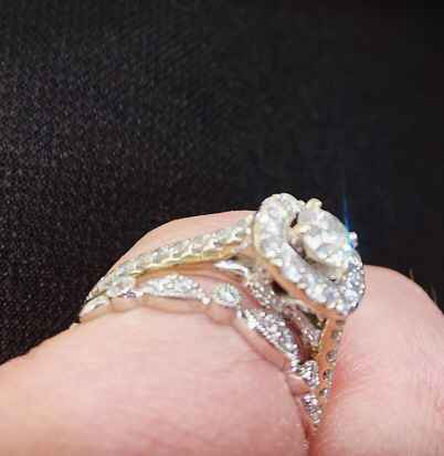 Mismatched engagement and wedding rings..yay or nay? - 2