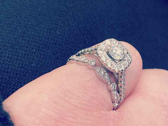 Mismatched engagement and wedding rings..yay or nay? - 4