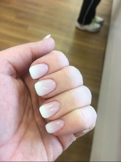 Wedding day nails 15