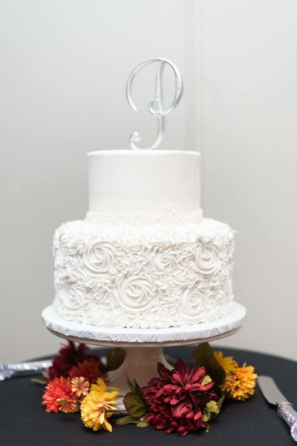 Tell me about your wedding cake