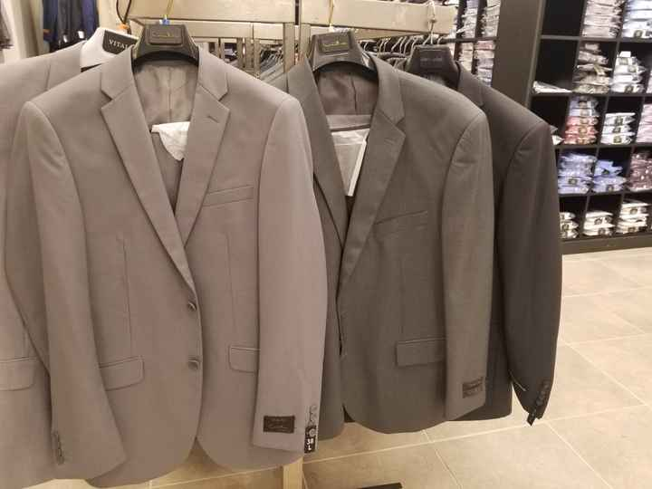 Groomsmen Attire - Need help with colors - 1
