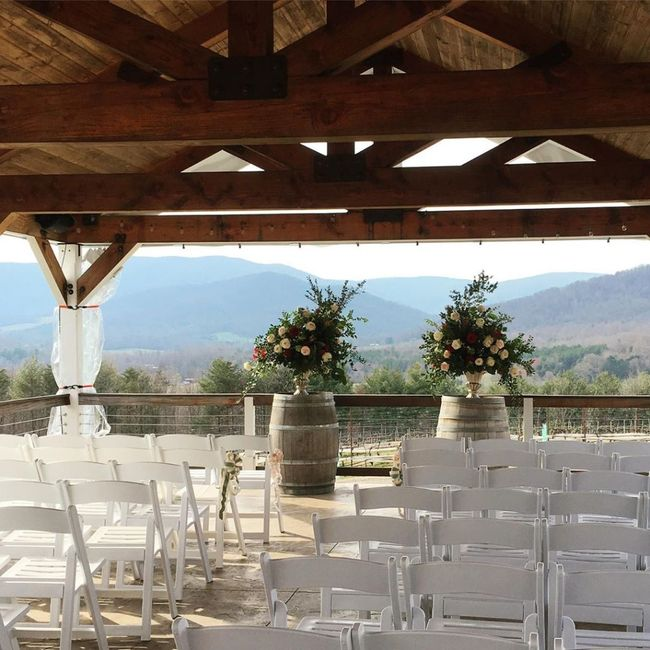 Let's see where you're getting married! Show off your wedding venue!! 19
