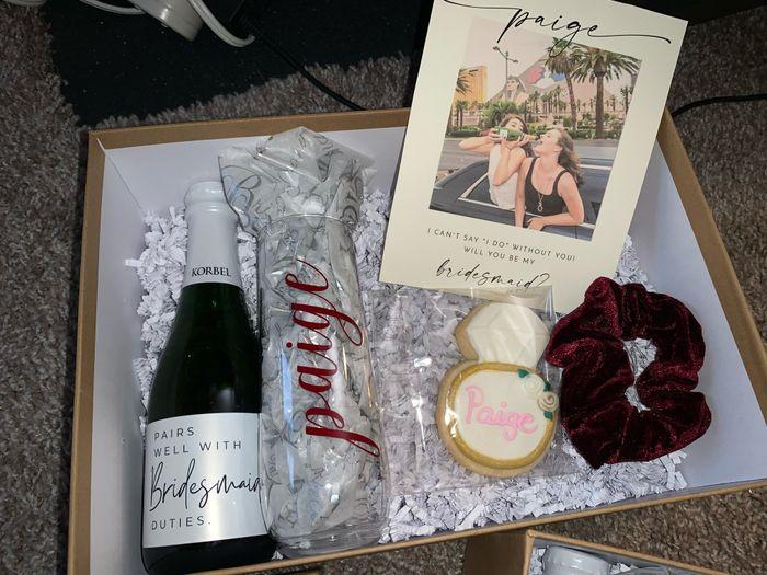 Bridesmaid Proposal Boxes! 2