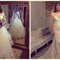 Can't decide between ball gown or fit n flair style