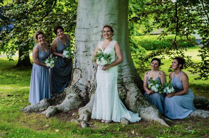 Azazie Fog bridesmaid dresses? Or similar? 7