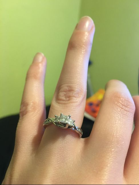 Show me your engagement ring! 12