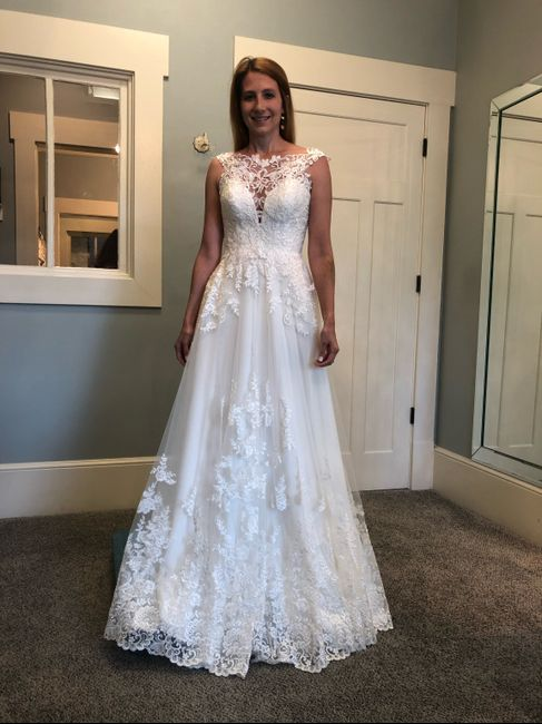 Dress Listed as Ivory---but It's not Ivory 9