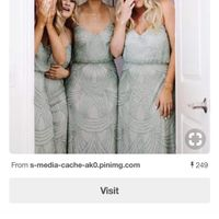 Need to find website for bridesmaid dress - 1