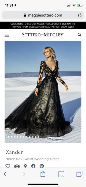 Different Colour Wedding Gown? 2