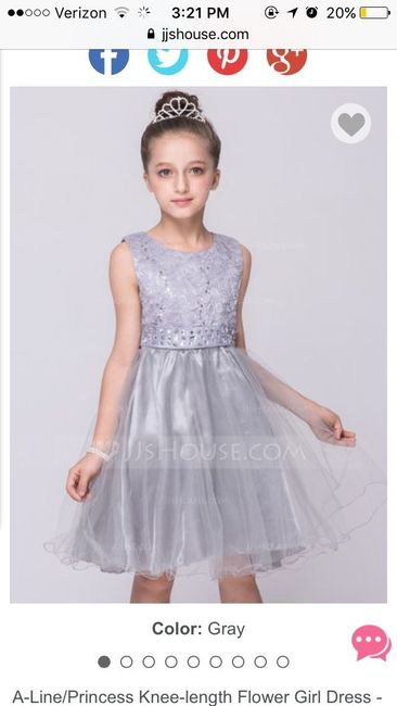 8c72a2cc55 I found a clearance dress at JJ s house for  30 for my 3 flower girls. I  didn t want them to wear white haha