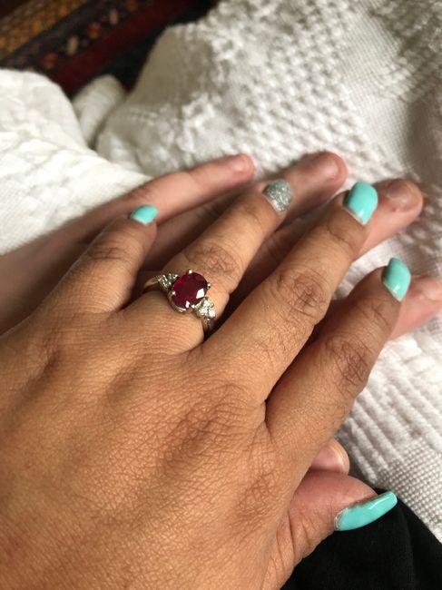 Show me your unique engagement rings! 2