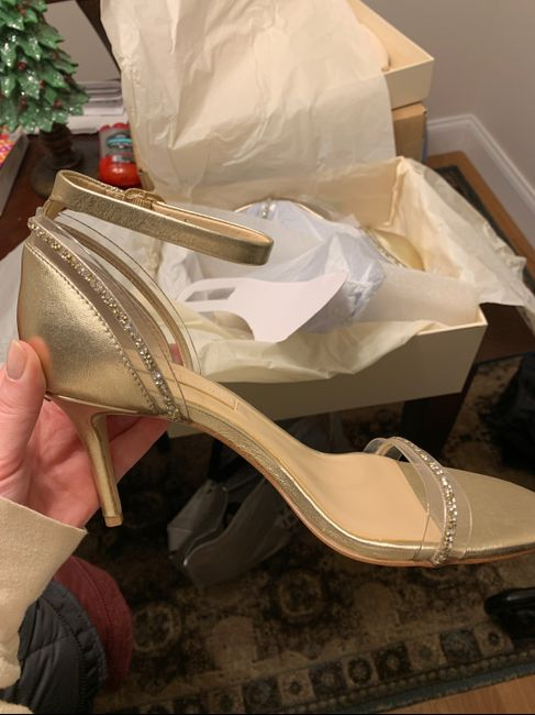 Wedding day shoes 8