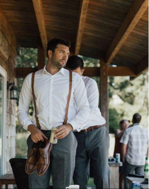 Groom/groomsmen attire struggle 2