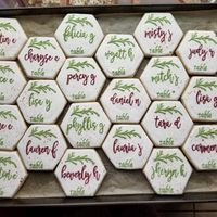 Cookie place cards! - 1