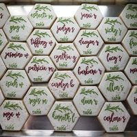 Cookie place cards! - 2