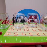 Custom wine glasses - 1