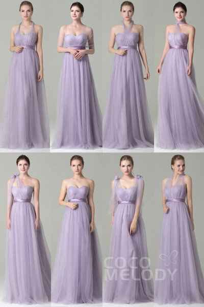 Bridesmaids: Convertible Dresses vs Dresses with Differing Silhouettes? - 2