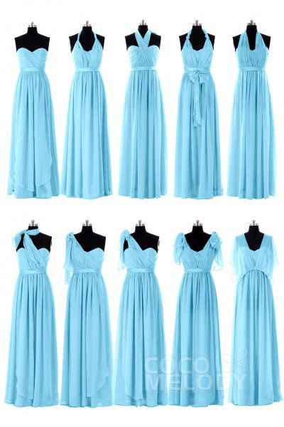 Bridesmaids: Convertible Dresses vs Dresses with Differing Silhouettes? - 3
