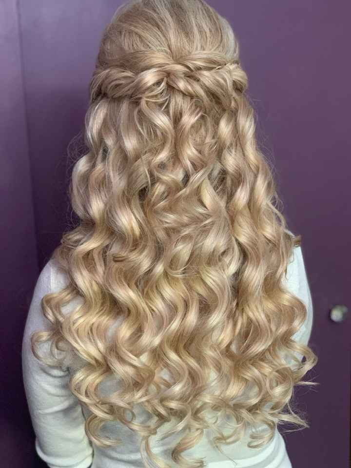 Hair Extensions For Wedding Day - 1