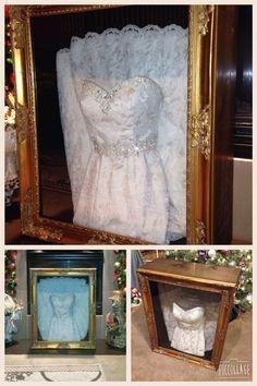 Framing a Wedding Dress? 1