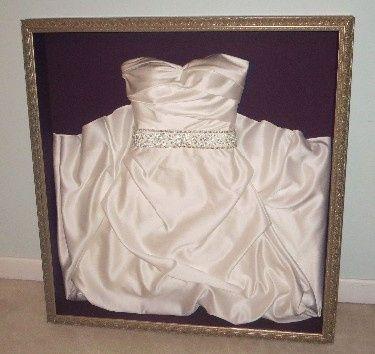 Framing a Wedding Dress? 2