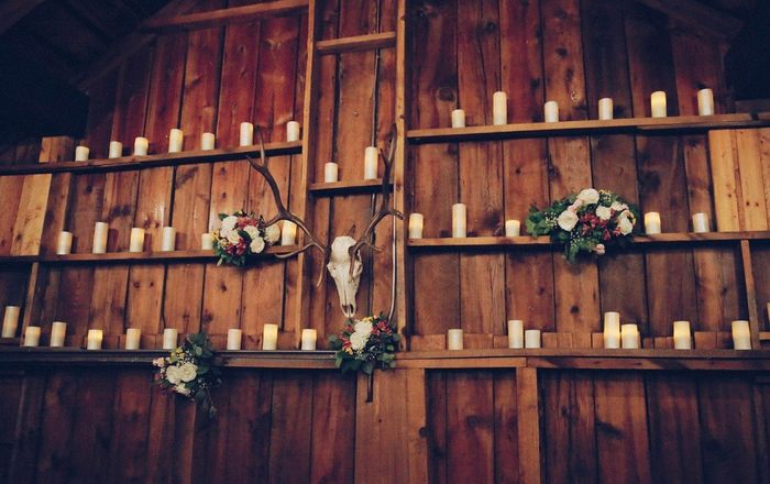 Tell me about the special touches at your wedding! 1