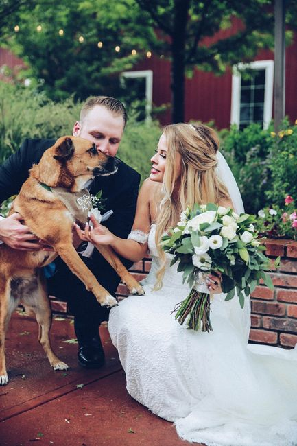 Tell me about the special touches at your wedding! 3